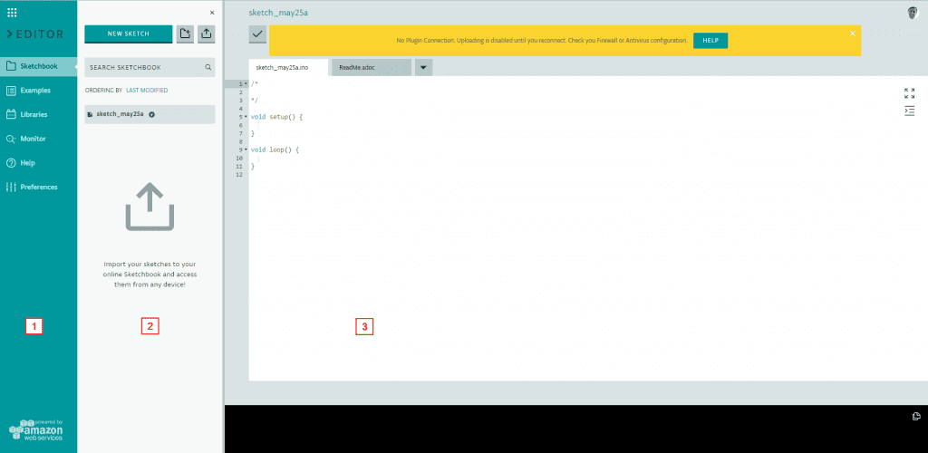 Arduino Web Editor IDE Overview