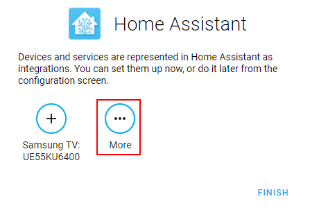 Home Assistant Setup Devices